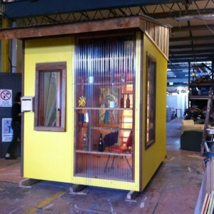 First Tiny House from Sydney's first Tiny House Building Course